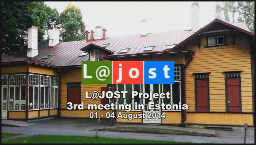 The movie of  the L@jost project meeting in Estonia