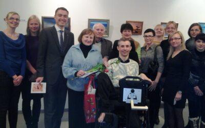Näituse avamine Sotsiaalministeeriumis 29. jaanuar 2013