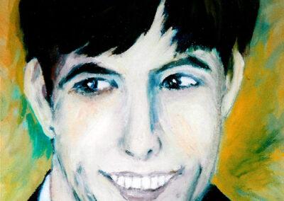 """Self-portrait"" oil 2002"