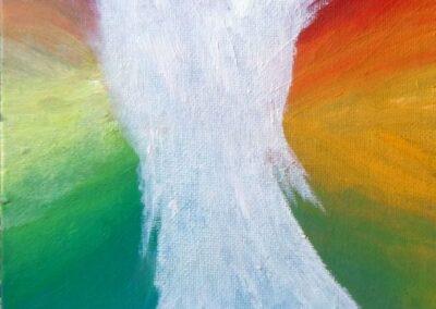 """Angel"" oil 2016 / 22x16 cm"