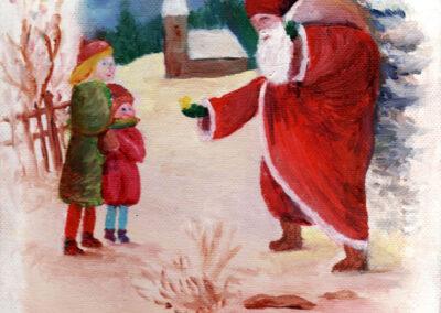 """""""Christmas"""" oil 2013 / 20x30 cm"""