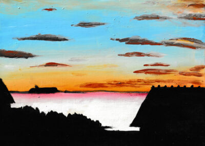 """Seaside still life"" oil 2018 / 18x24 cm"