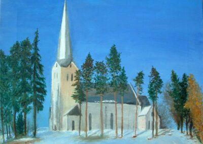 """St. Peter's Church"" oil 2009 / 41x33 cm"