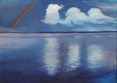 """Reflection"" oil 2014 / 35x27 cm"