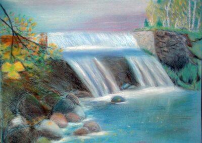 """The autumn"" pastel 2010 / 40x32 cm"