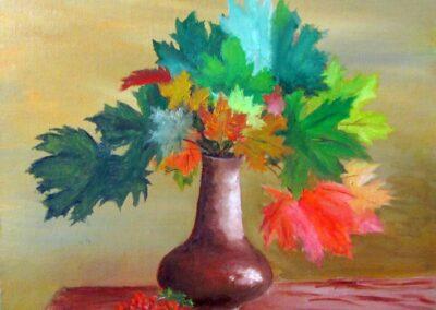 """""""Autumn Colors"""" 2012 Oil / 30x30 cm"""