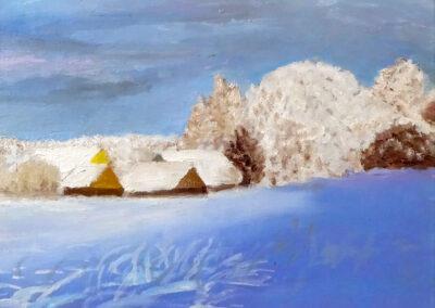 """Winter"" oil 2000 30x24 cm"