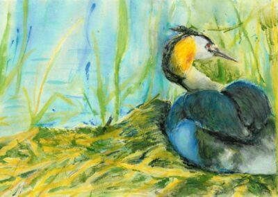 """Tuttpütt"" watercolor 1994"