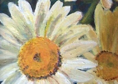 """""""Daisies"""" oil 1994"""
